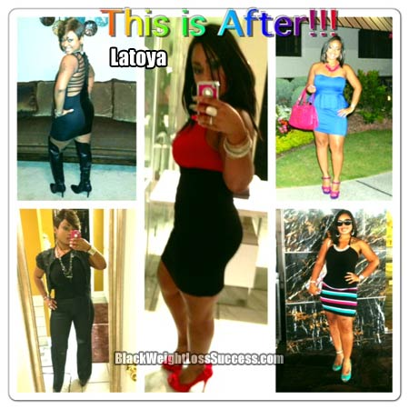 Latoya weight loss photos