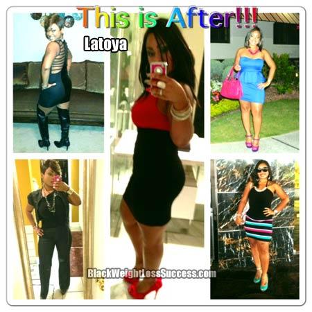 Latoya weight loss photos