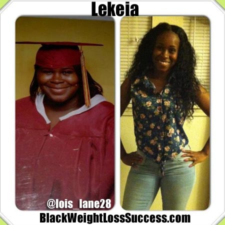 Lekeia weight loss story