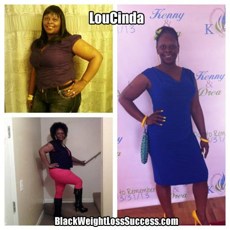 Lou weight loss journey