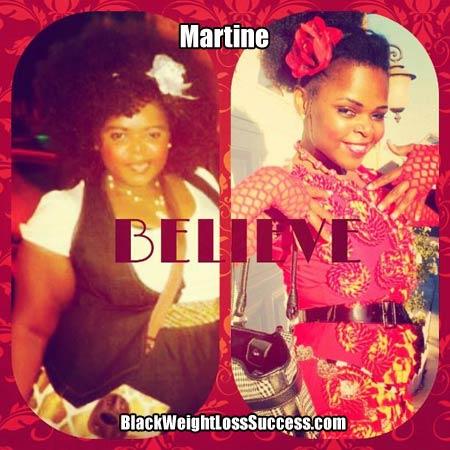 Martine weight loss story