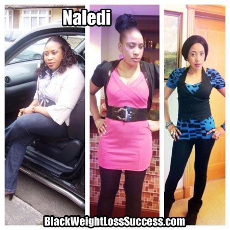Naledi weight loss story uk