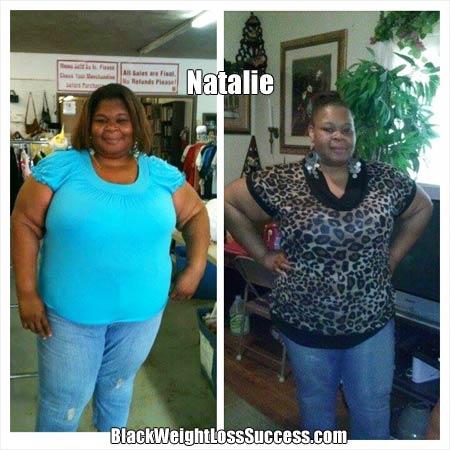 Natalie mom weight loss