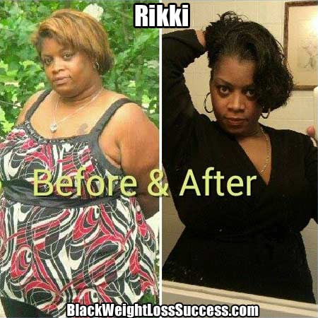 Rikki weight loss photos