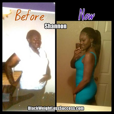 Shannon weight loss photos