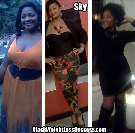 Sky weight loss photos