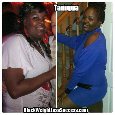 Taniqua weight loss photos