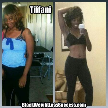 Tiffani weight loss photos