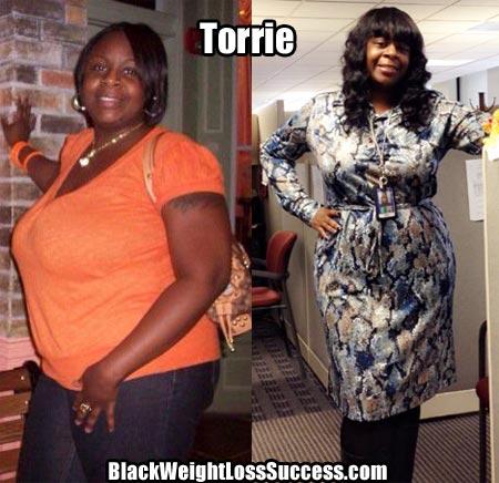 Torrie weight loss photos