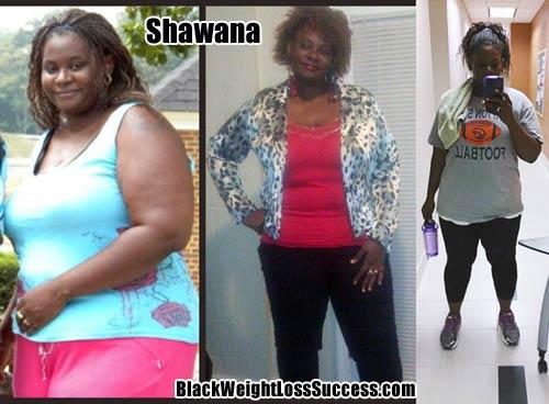 shawana weight loss success