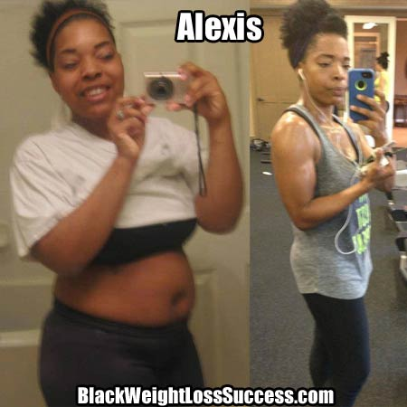 Alexis weight loss photos