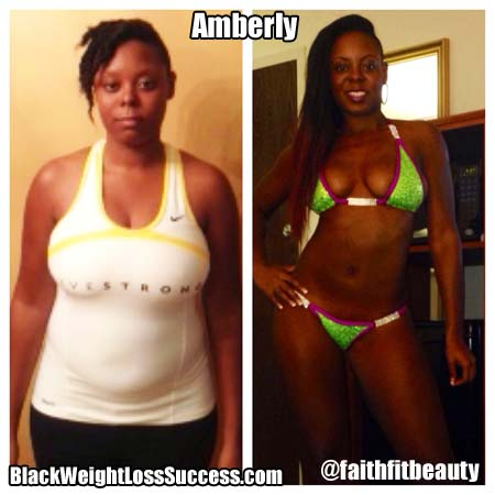 Amberly before and after