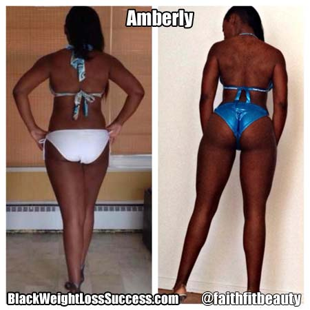 Amberly bodybuilding competitor transformation