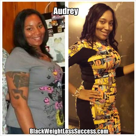 Audrey weight loss story