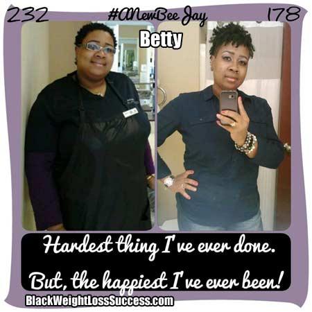 Betty weight loss story