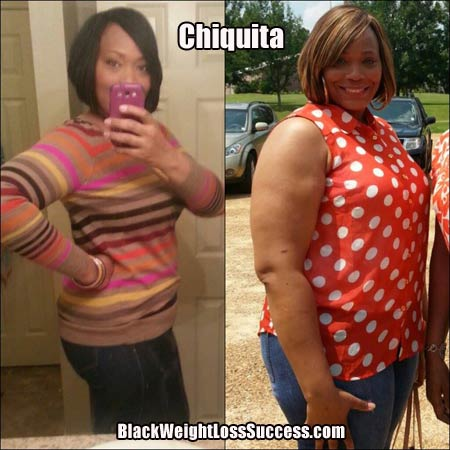 Chiquita weight loss story