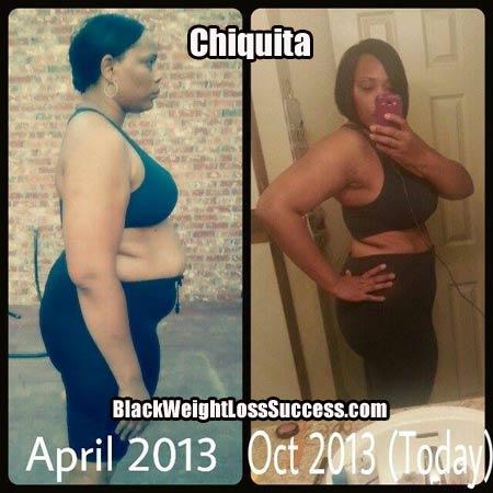 Chiquita weight loss photos