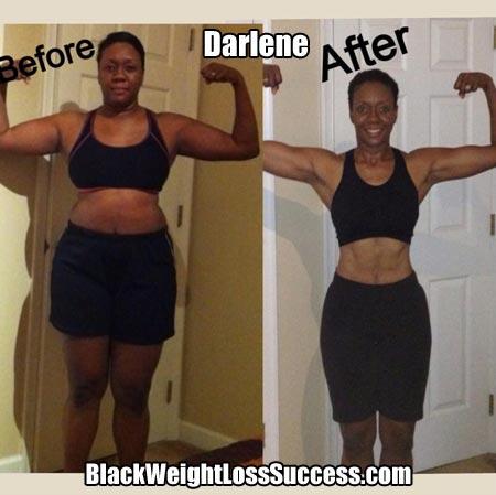 Darlene weight loss success