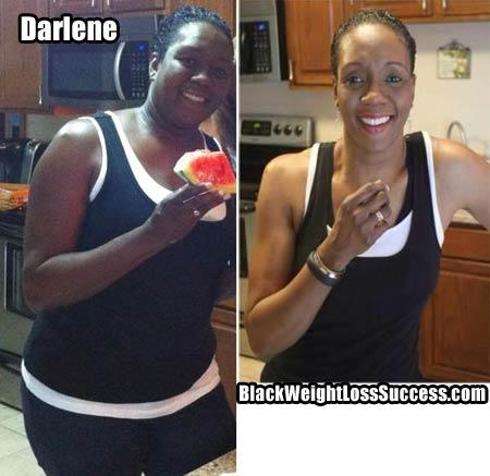 Darlene weight loss photos