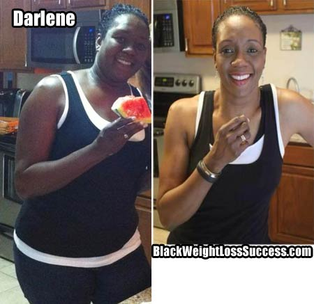 Darlene weight loss photos