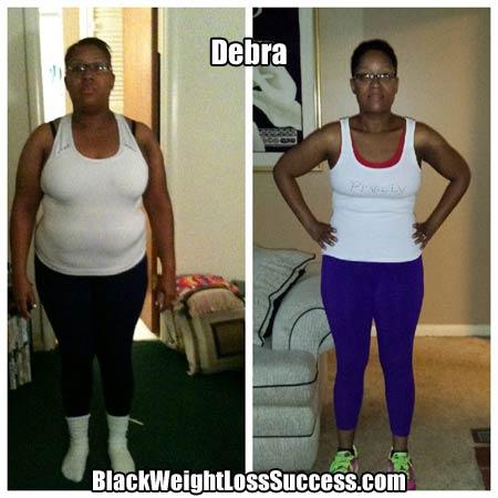 Debra weight loss story