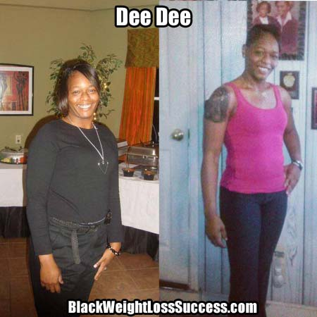 Dee Dee before and after