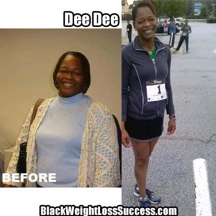 DeeDee weight loss