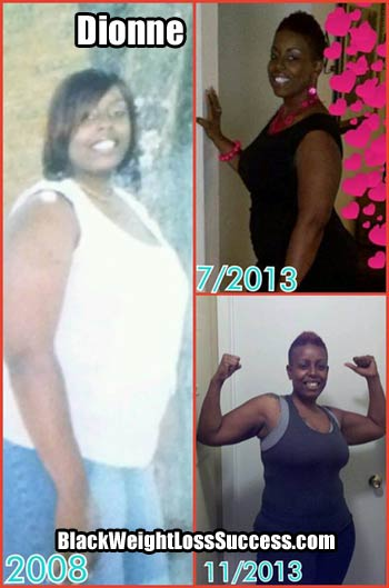 Dionne weight loss success story