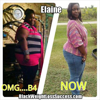 Elaine lost 113 pounds
