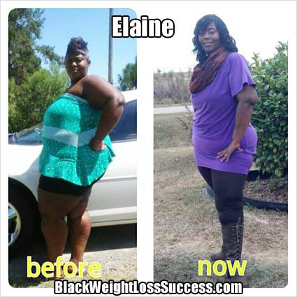 Elanie's weight loss story
