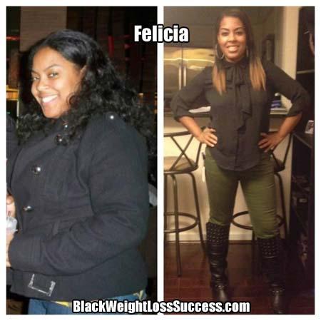 Felicia weight loss blog