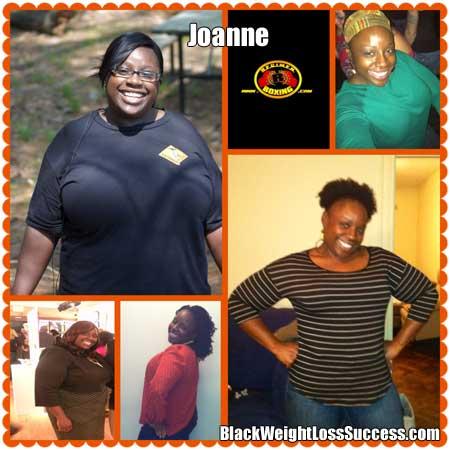 Joanne weight loss journey