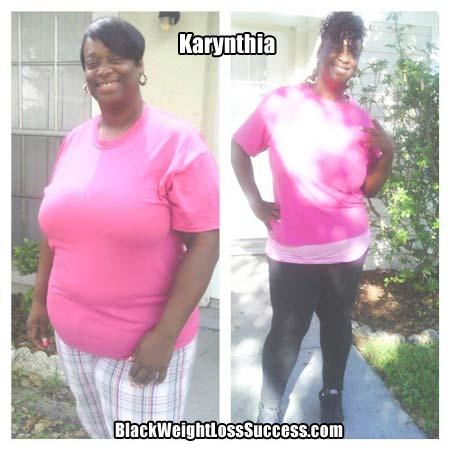 Karynthia weight loss story