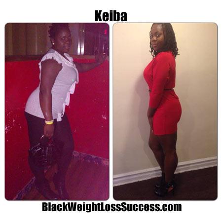 Keiba weight loss photo