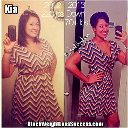 Kia weight loss photos