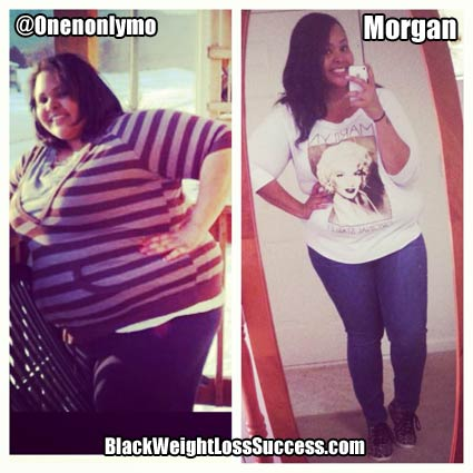 Morgan before and after