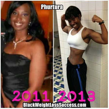 Phurtura weight loss photos
