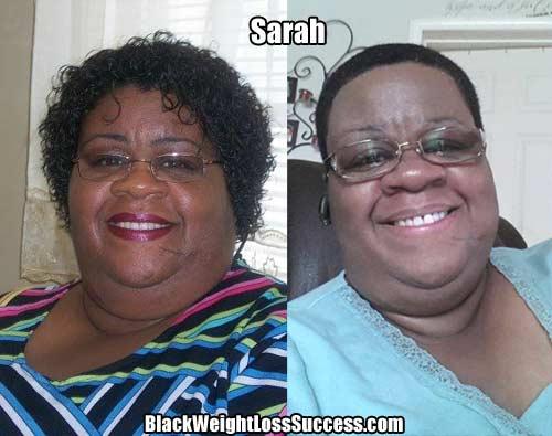 Sarah before and after photos