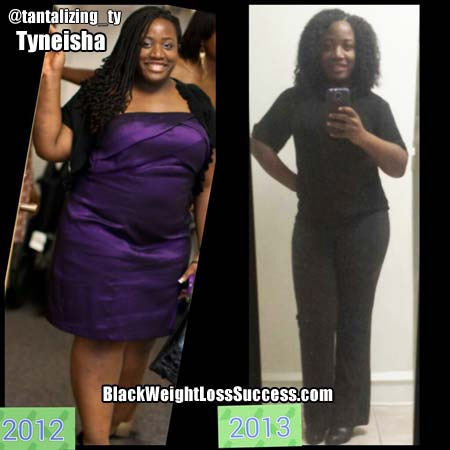 Tyneisha weight loss