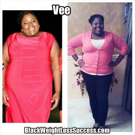 Vee before and after