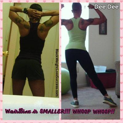 dee dee muscle gain