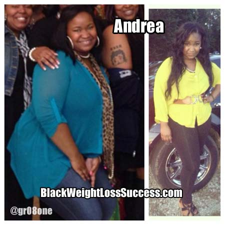 Andrea weight loss success story