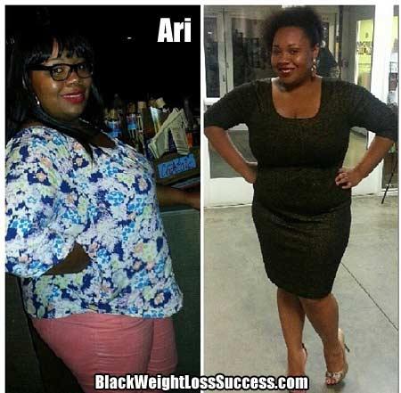 Ari weight loss story
