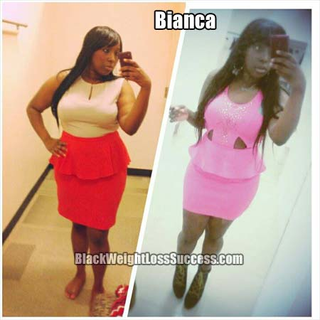 Bianca weight loss photos