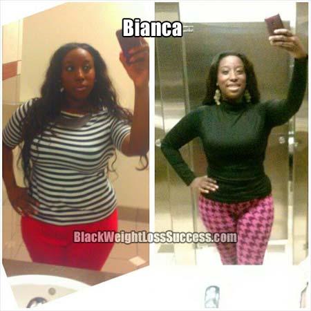 Bianca weight loss