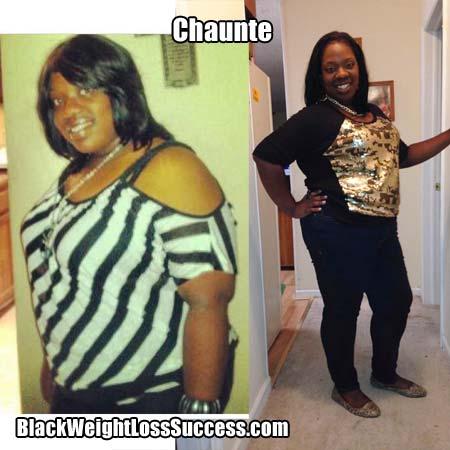 Chaunte weight loss