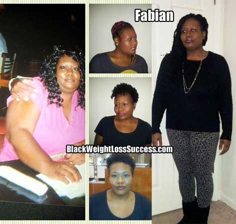 Fabian weight loss photos