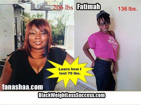 Fanashaa weight loss