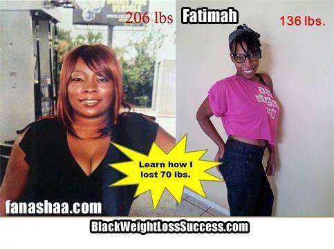 Fanashaa weight loss