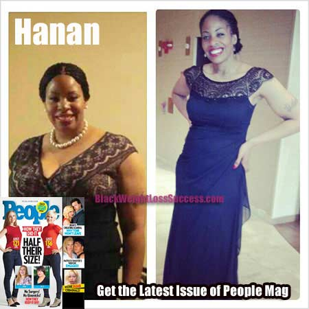 Hanan weight loss people magazine